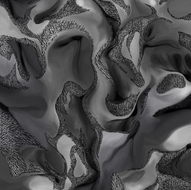 Digital Flesh Experiment, 2020 (digitally layered, editted photographs)