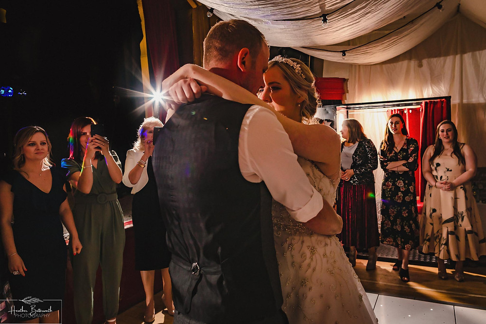 leeds wedding photographer Yorkshire reception alwoodley community hall first dance