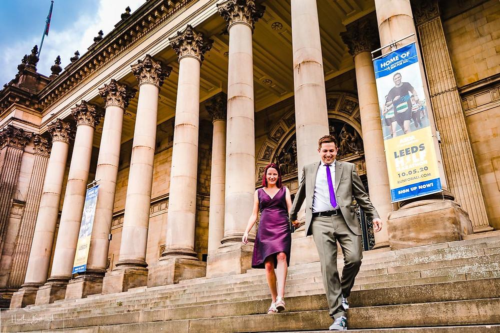 wedding photographer leeds yorkshire leeds town hall
