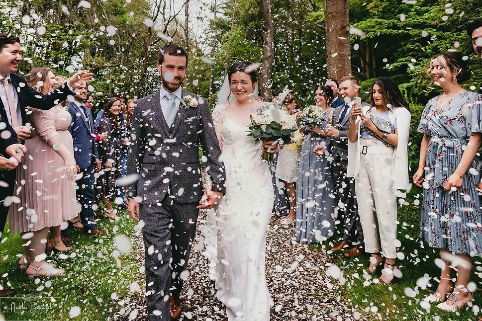 Tash and Lukes wedding The Woodman Inn (
