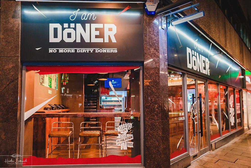 I am Doner in Leeds City Centre Yorkshire.