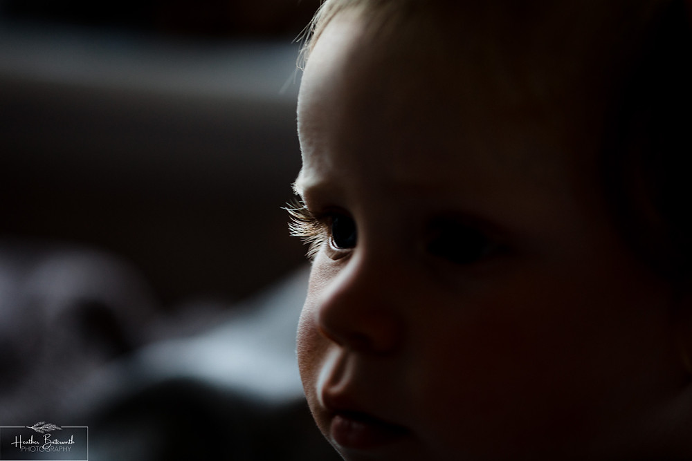 toddlers eyelash