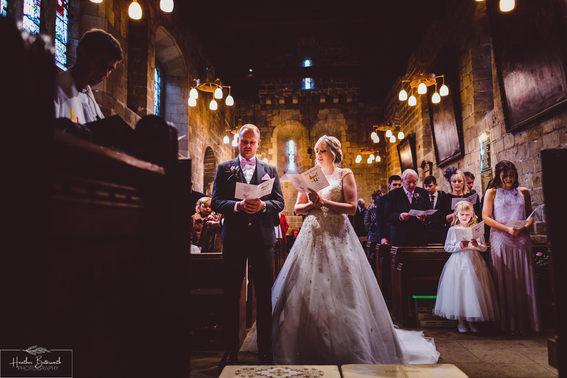 Adel Church documentary wedding photography