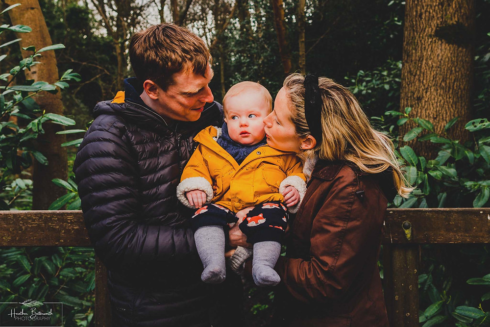 Roundhay Park in Leeds, Yorkshire Family Photo Shoot taken by Photographer Heather Butterworth