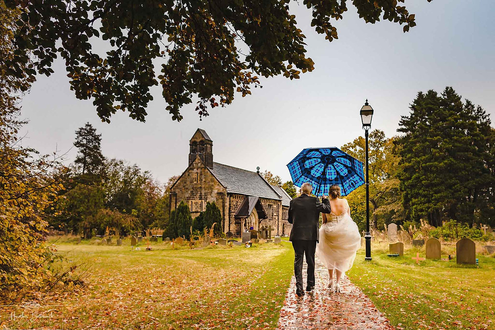 leeds wedding photographer Yorkshire adel parish church st John the baptist