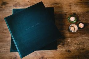 Luxury wedding photography album