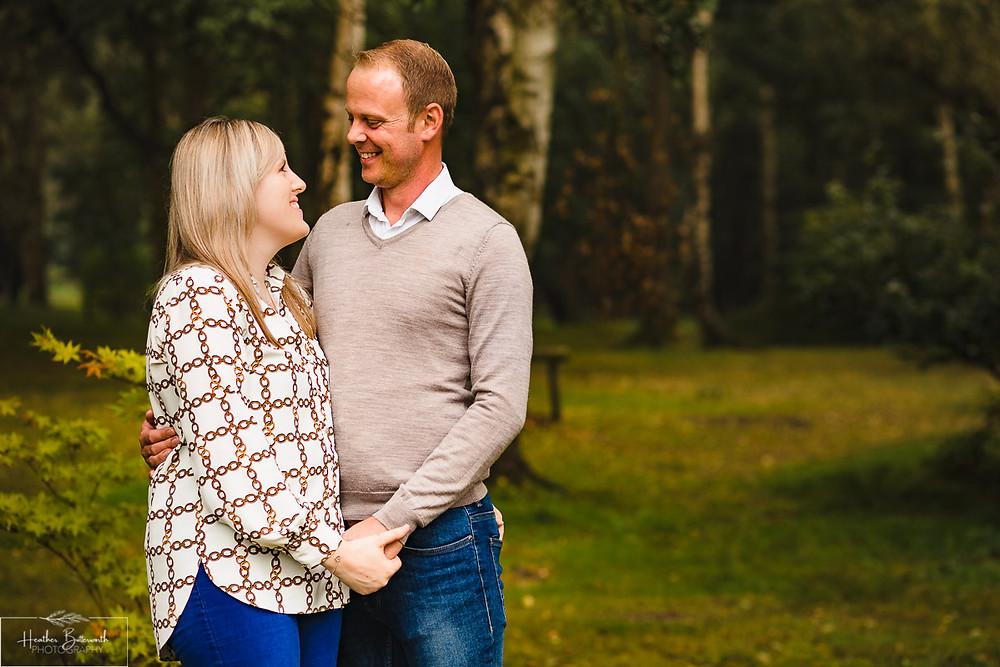 golden acre park Leeds wedding photographer engagement shoot canon