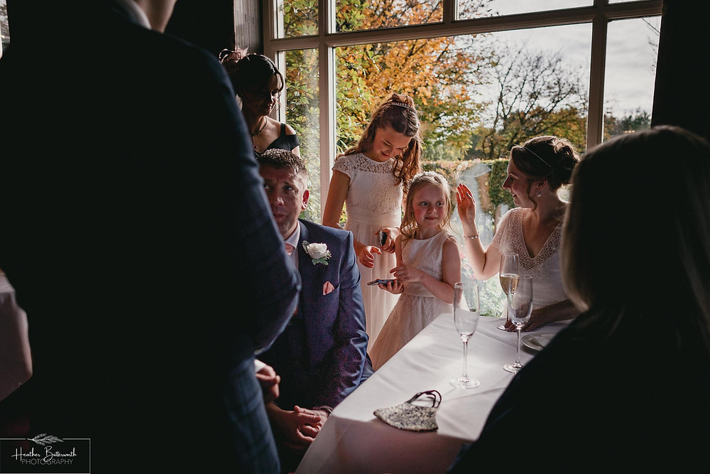 wedding photography at Stanley House Hotel and Spa in Lancashire in October 2020