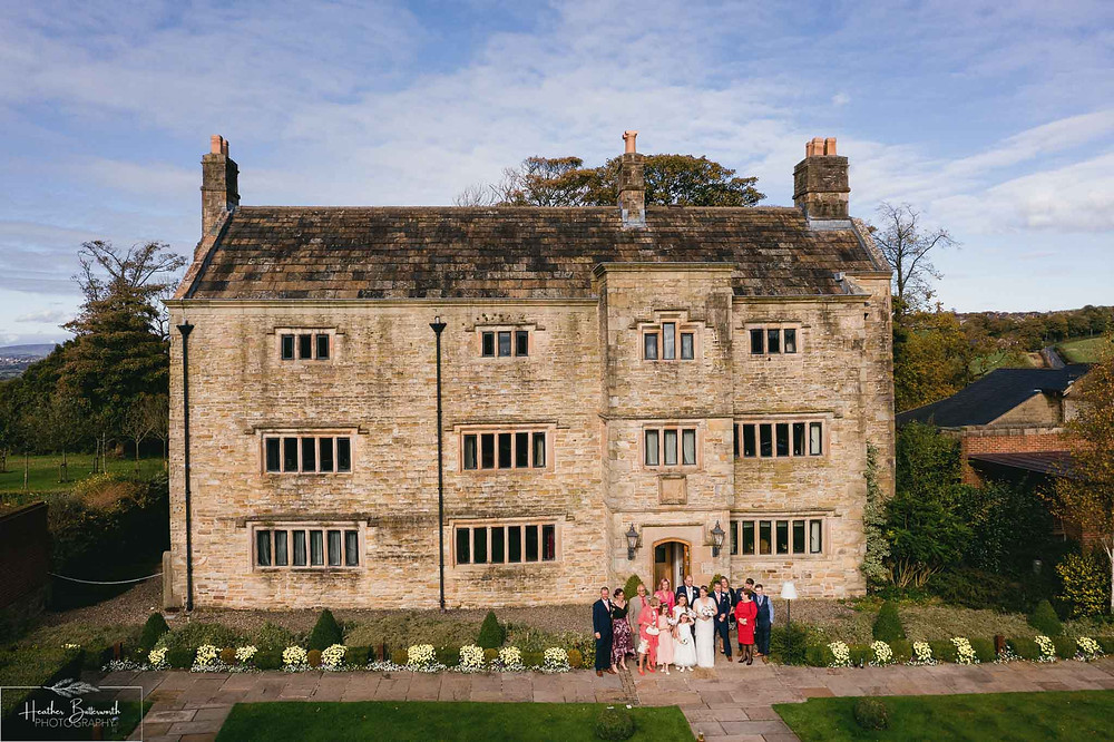 Wedding photography at Stanley House Hotel and Spa in October 2020