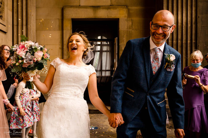 Documentary wedding photography in Yorkshire
