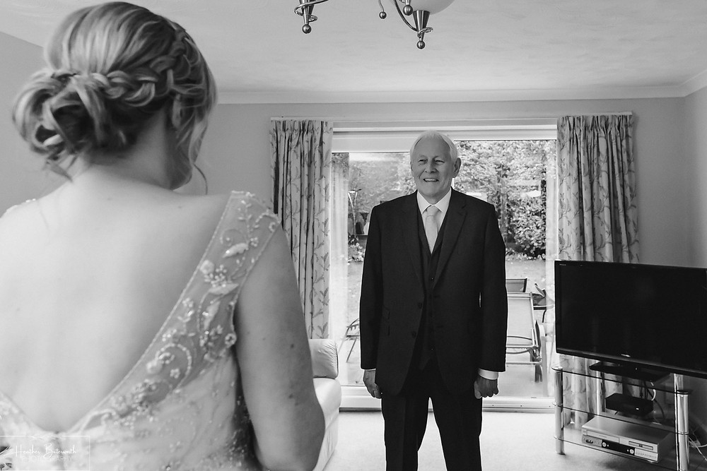leeds wedding photographer Yorkshire father of the bride