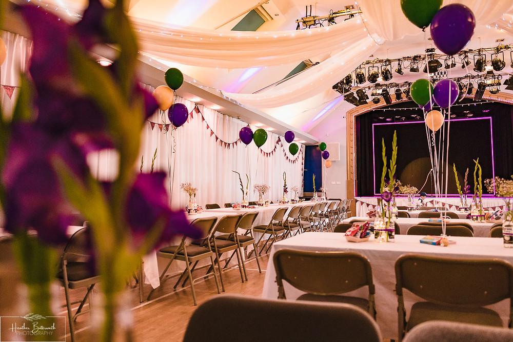 wedding photographer leeds yorkshire thorner victory hall