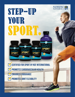 Nordic Naturals Sport One Page Magazine