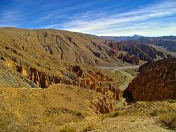 Alentours de Tupiza, Bolivie