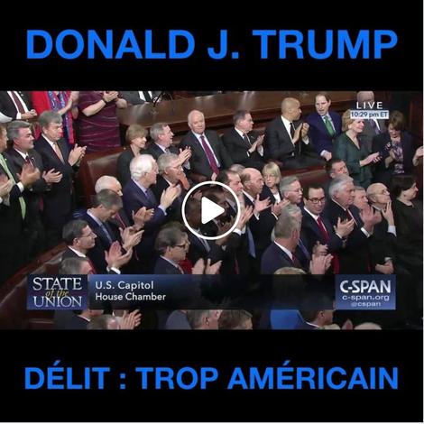 Donald J. Trump ; trop américain [VIDÉO]