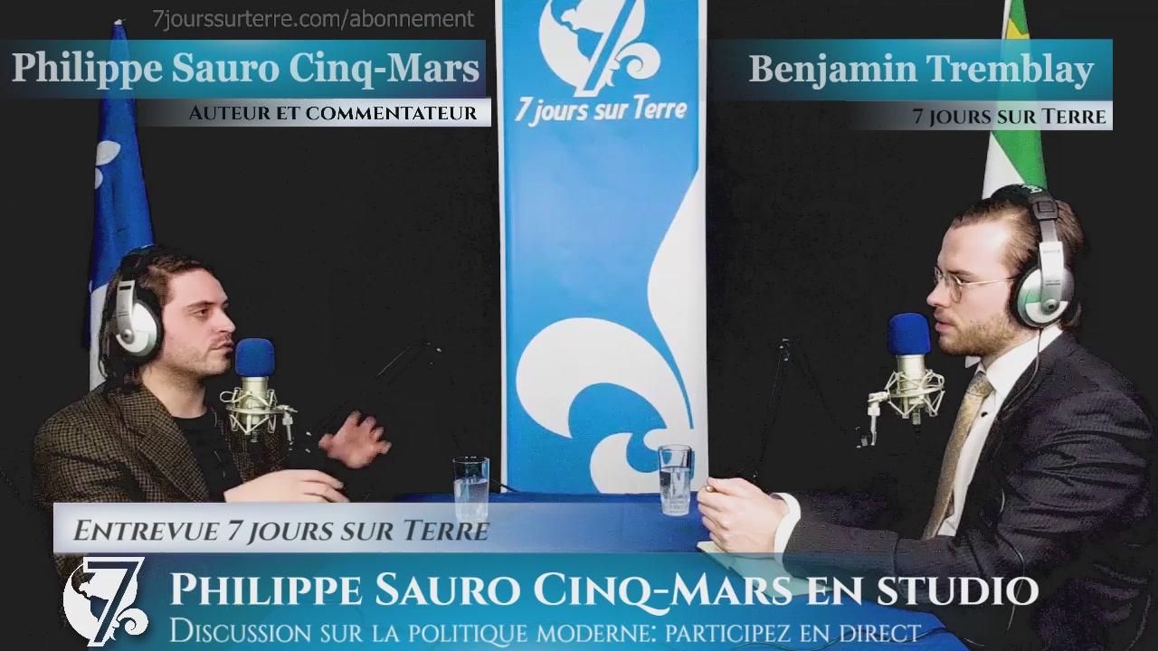 Discussion avec Philippe Sauro Cinq-Mars