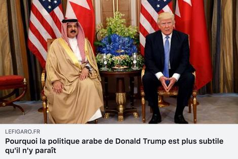 Trump tient l'Arabie Saoudite en respect et lui fait la leçon