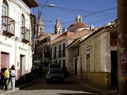 Calle Bustillos, Potosí, Bolivie
