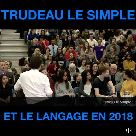 """""""Peoplekind"""" : Trudeau fait encore rire de lui"""