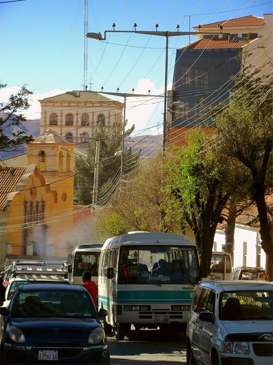 Calle Camacho, Potosí, Bolivie
