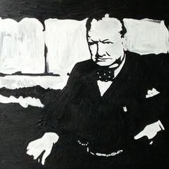 Churchill par Karsh