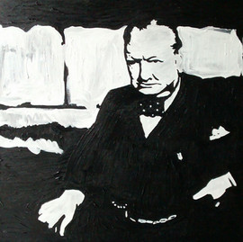 Churchill par Karsh