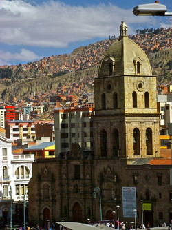 Cathédrale San-Francisco, La Paz, Bolivie