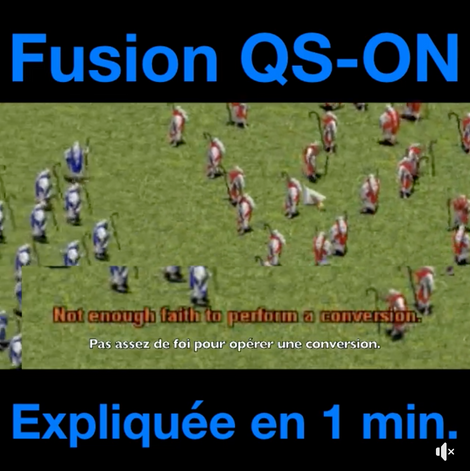 Fusion de QS et ON en 1min