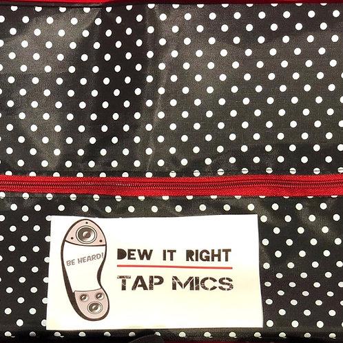 DeW It Right Shoe Bag (polkadot)