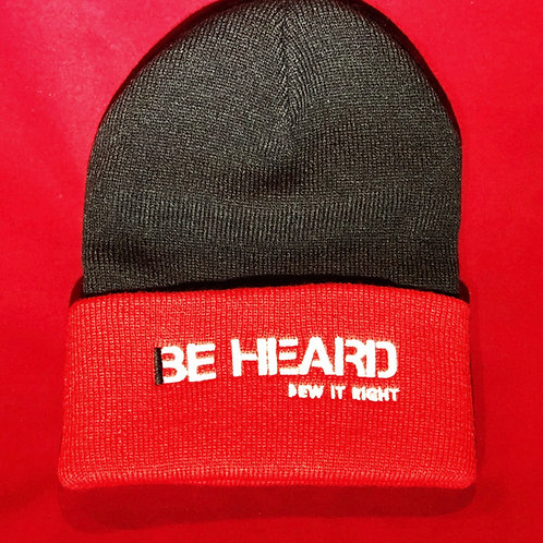 """BE HEARD"" Beanie Hat"