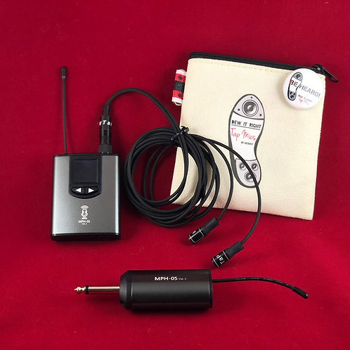 Transmitter and Receiver Pack for Sennheiser Tap Mics