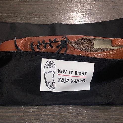 DeW It Right Shoe Bag (black)