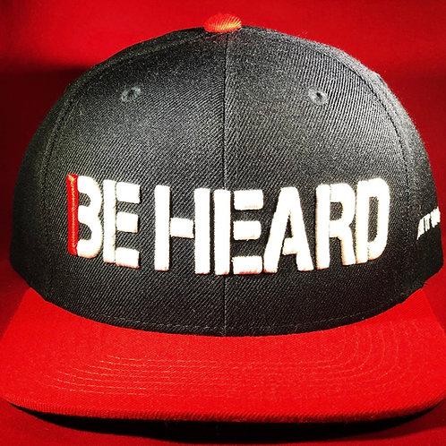 """""""BE HEARD"""" Hat"""