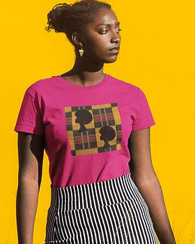 Afro-African-Print-Color-Short-Sleeve-Un