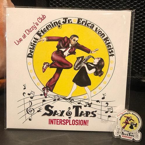 Sax And Taps Signed Album