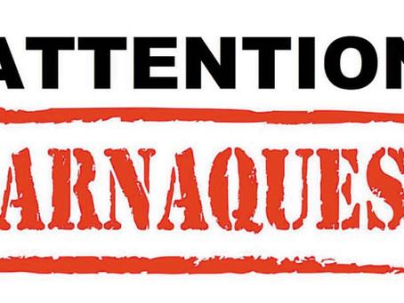 Dépannages d'urgence, attention aux arnaques !