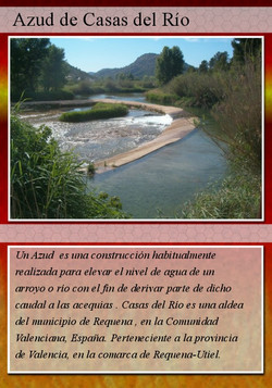 1A rojo azud de asas del rio