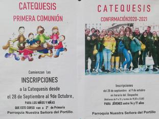 CATEQUESIS DE COMUNIÓN Y CONFIRMACIÓN
