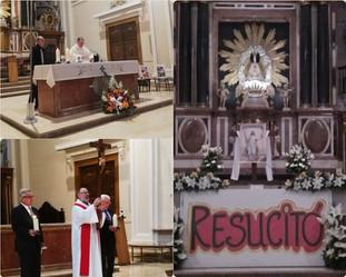 JESÚS RESUCITADO LLEVE ALEGRÍA A VUESTROS CORAZONES Y A VUESTRAS CASAS