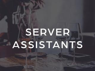 Server Assistants