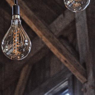 Edison light detail