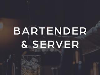 Bartender and Server