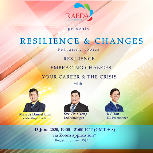 Resilience & changes