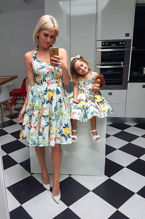 Flora Dress Mom