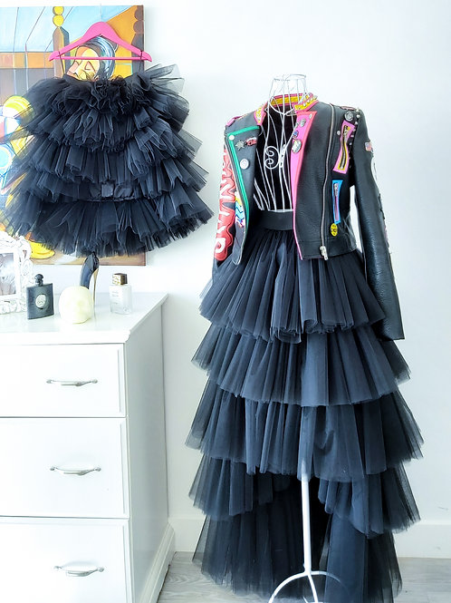 Coco High Low Tulle Skirt Mom