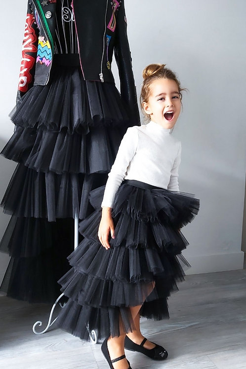 Coco High Low Tulle Skirt Child