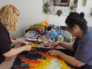 Netherlands Open European Quilt Championships - here we come!