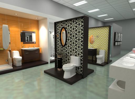Showroom Feature:  GSI Bath Showcase  Doylestown, PA