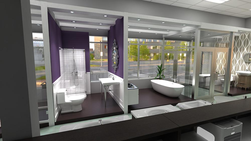 GSI Bath Showplace, Doylestown, PA