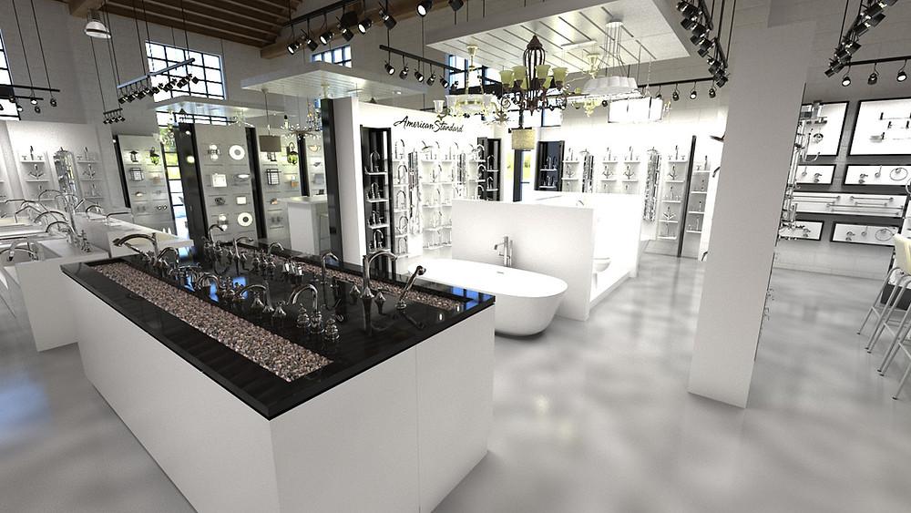 Kenny Showroom, SH Design-Build
